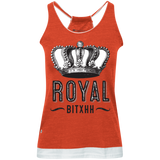 Royal Bitxh Crown Juniors' Vintage Heathered Tank - Ocdesignzz  - 3