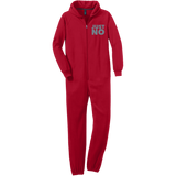 Just No Adult Fleece Onesie - Ocdesignzz  - 4