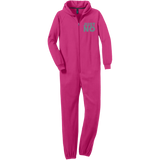 Just No Adult Fleece Onesie - Ocdesignzz  - 2