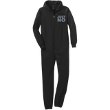 Just No Adult Fleece Onesie - Ocdesignzz  - 1