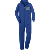 Just No Adult Fleece Onesie - Ocdesignzz  - 3