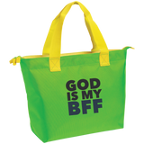 God Is My BFF Zippered Tote - Ocdesignzz  - 3