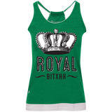 Royal Bitxh Crown Juniors' Vintage Heathered Tank - Ocdesignzz  - 2