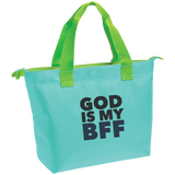 God Is My BFF Zippered Tote - Ocdesignzz  - 1