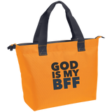 God Is My BFF Zippered Tote - Ocdesignzz  - 4