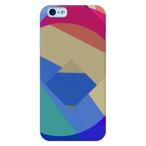 Multicolor Geometric iPhone Samsung Galaxy Cases