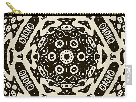 Aztec Zebra Print  - Carry-All Pouch
