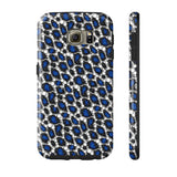 Blue Cheetah Print Phone Case - Ocdesignzz  - 11