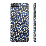 Blue Cheetah Print Phone Case - Ocdesignzz  - 2