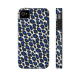 Blue Cheetah Print Phone Case - Ocdesignzz  - 9