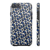Blue Cheetah Print Phone Case - Ocdesignzz  - 3