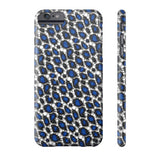 Blue Cheetah Print Phone Case - Ocdesignzz  - 1