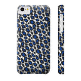 Blue Cheetah Print Phone Case - Ocdesignzz  - 7