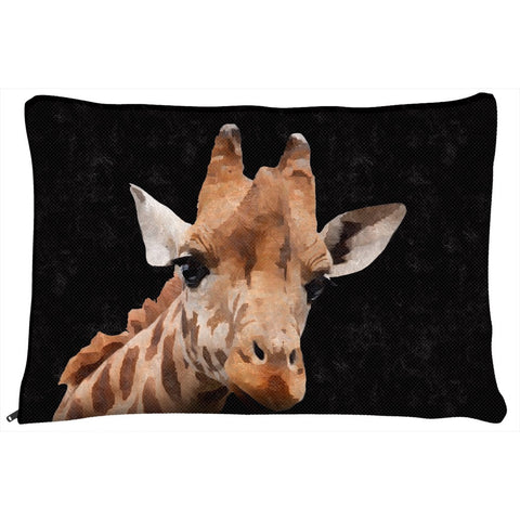 Cute Painted Giraffe Dog Bed