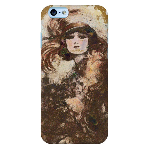 Beautiful Grunge Vintage Woman iPhone Samsung Galaxy Cases