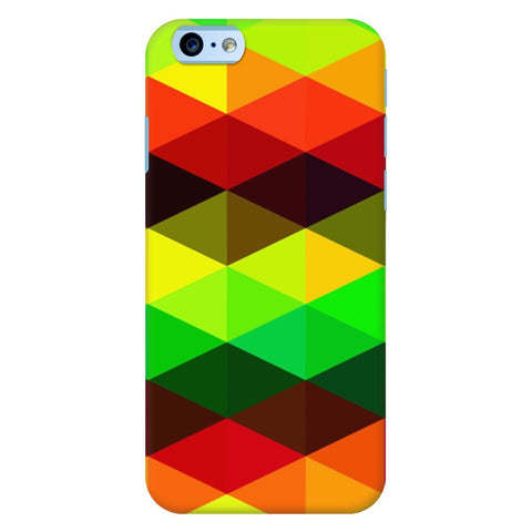 Rasta Geometric Pattern iPhone Samsung Galaxy Cases