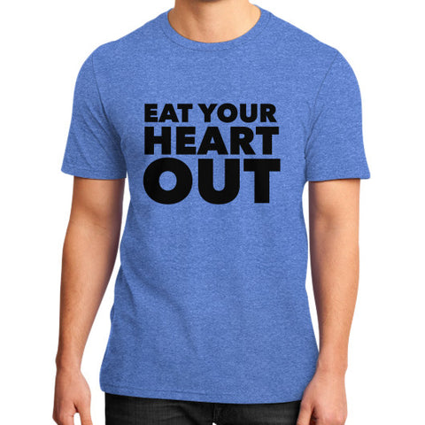 Eat Your Heart Out District T-Shirt (on man) - Ocdesignzz  - 1
