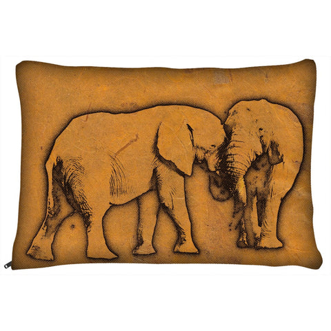 Beautiful Vintage Elephants Dog Bed