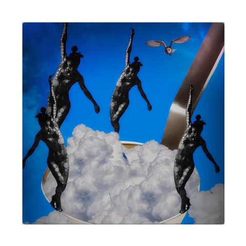 Dancing On Clouds Artistic Cloth Napkins