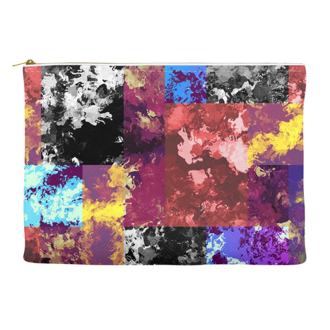 Paint Splatter Grunge Accessory Pouches