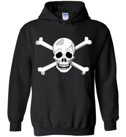 Skull and Bones Adults and Youth Gildan Heavy Blend Hoodie