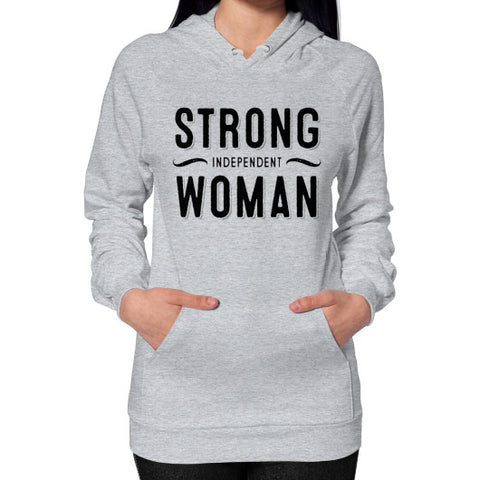 Strong Independent Woman Hoodie (on woman) - Ocdesignzz  - 1