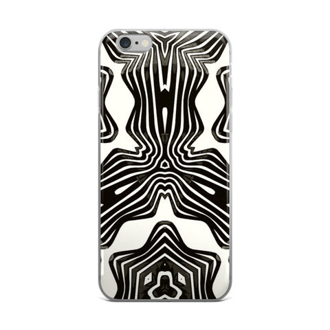 Black White Aztec Pattern iPhone case - Ocdesignzz  - 1
