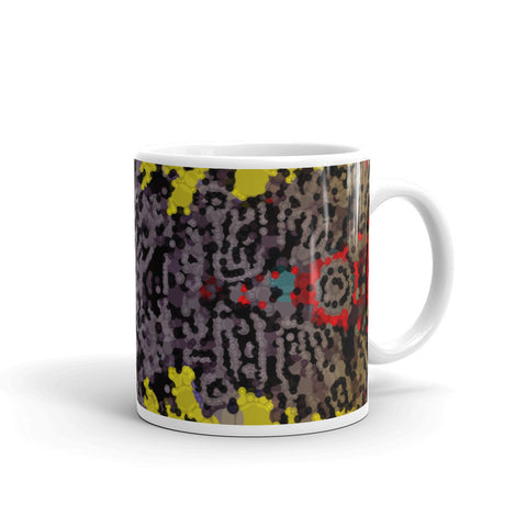 Abstract Aztec Pattern Mug
