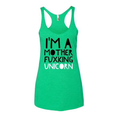 I'm A Mother Fuxking Unicorn Women's tank top - Ocdesignzz  - 1