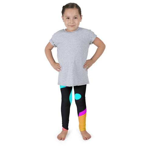 Huge Multicolor Polka-dot Kid's Pants leggings