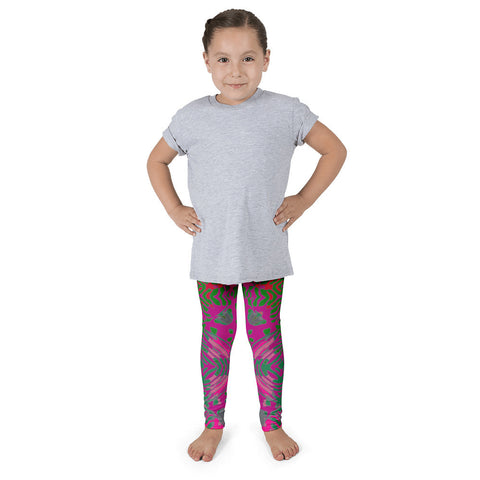 Psychedelic Animal Print Aztec Pattern Kid's Pants leggings