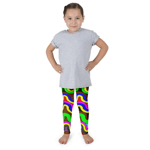 Sherbert Swirls Kid's Pants leggings