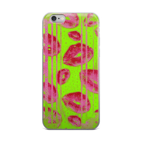 Lemon Lime Kisses iPhone  case - Ocdesignzz  - 1