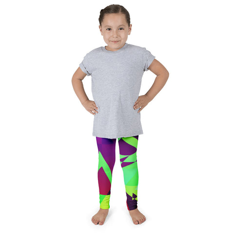 Multicolor Triangular Kid's Pants leggings