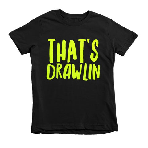 That's Drawlin Short sleeve kids t-shirt - Ocdesignzz  - 1