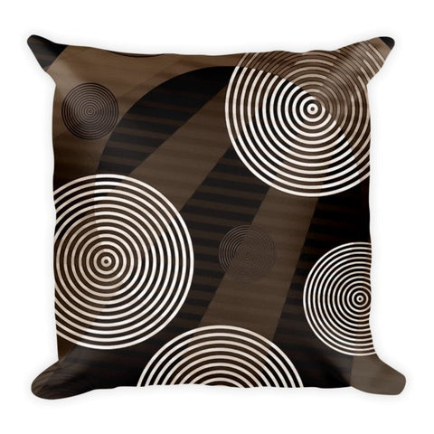 Brown Sugar Abstract Pillow - Ocdesignzz