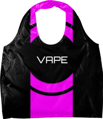 Vape Pink Black Bag - Ocdesignzz