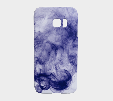 Blue X-ray Smoke Samsung Galaxy S7 Edge Case