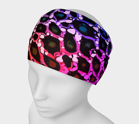 Rainbow Cheetah Print Headband