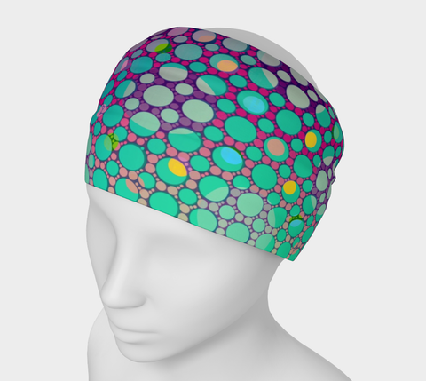Bright Colorful Polkadot Headband
