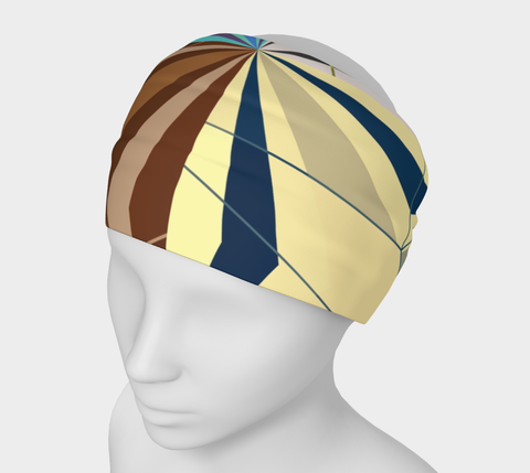 Earth Tone Geometric Triangle Headband