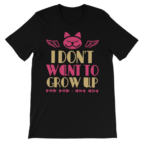 I Don't Want To Grow Up Kids TShirt