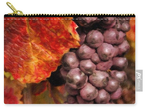 Vintage Grapes  - Carry-All Pouch