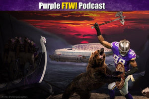 Purple FTW Podcast: Vikings-Bears Preview feat. Julie DiCaro & @JReidDraftScout