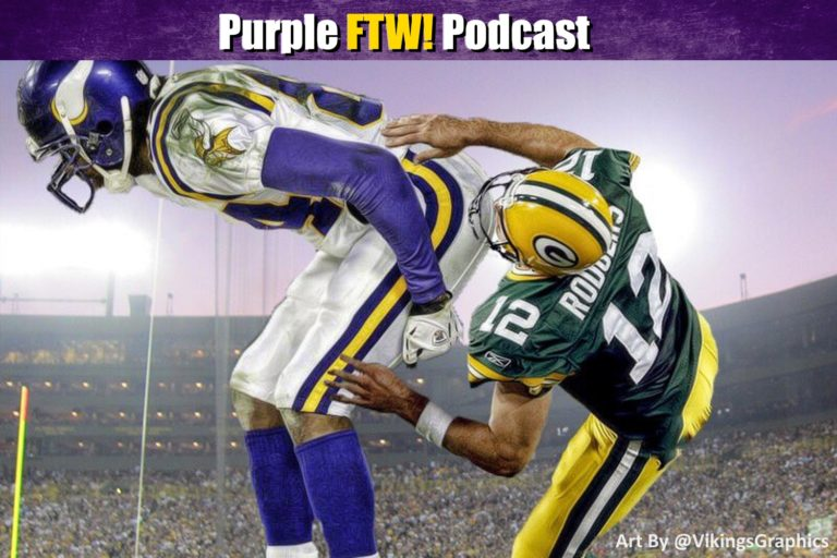 Purple FTW Podcast: Vikings-Packers Preview feat. Joe Duffy + @JReidDraftScout
