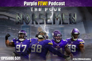 Purple FTW! Podcast #531: Vikings Friday Free-For-All feat. Darren Wolfson + @JReidDraftScout