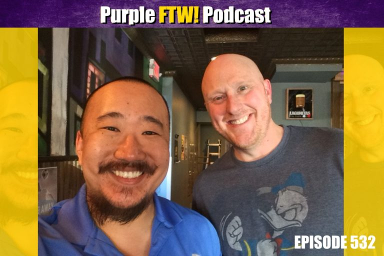 Purple FTW! Podcast #532: Vikings Fantasy Football Funsies with Scott Fish
