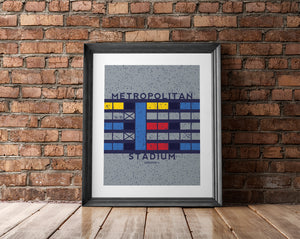 New Product Alert: The Metropolitan Stadium Man Cave Artwork Is Now Available
