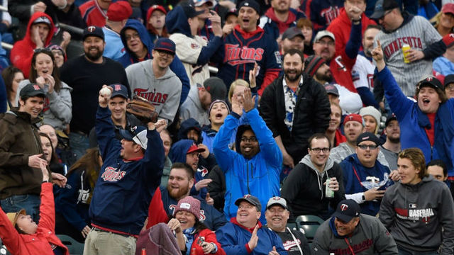 The Minnesota Twins Home Opener Is SOLD OUT