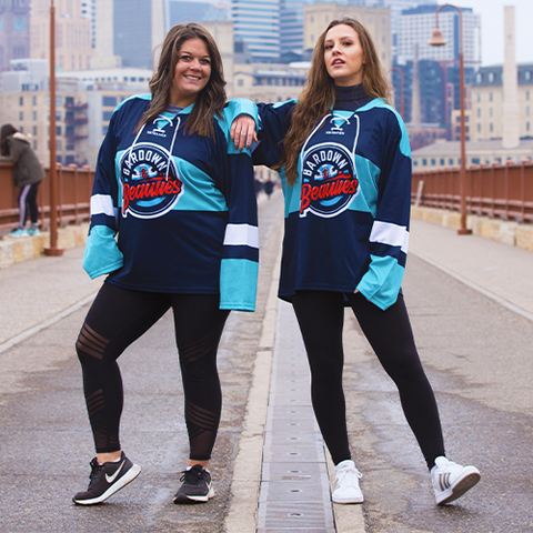 BARDOWN BEAUTIES | PERSONALIZED JERSEY